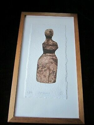 Limited Edition Signed Hand Coloured Etching BRIDGET MCCRUM RWS Listed Framed