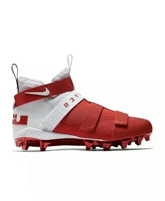 newest 9e4fb aa6e7 NIKE LEBRON SOLDIER 11 TD Football Cleats Ohio State Buckeyes Men's Size 14  NEW