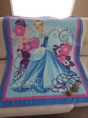 Cinderella Quilt, Crystal & Pearls Embellishment, Bed Quilt, Wall Hanging