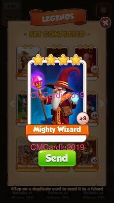 Coin Master Mighty Wizard X1 !!!Super Quick Dispatch!!!