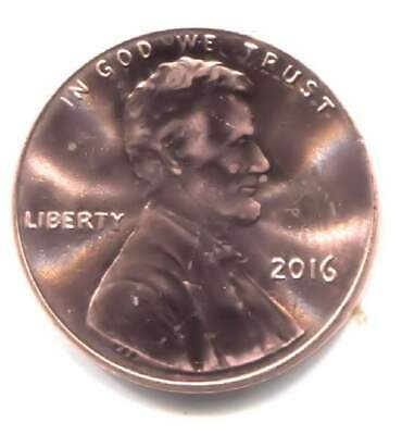 U.S. 2016 Lincoln Shield Penny - AU One Cent Coin - Philadelphia Mint