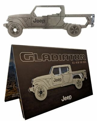 New Jeep Gladiator Multi-Tool and Reveal Brochure 2020 Mopar Gladiator