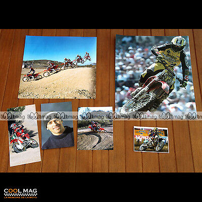 ★ FREDERIC BOLLEY ★ Moto CROSS Photos Clipping 1994-2000 Pictures Magazine #DC60