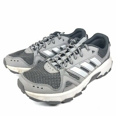 Adidas Ortholite Mens Size 8.5 Light Gray Athletic Running Shoes Traction Sole