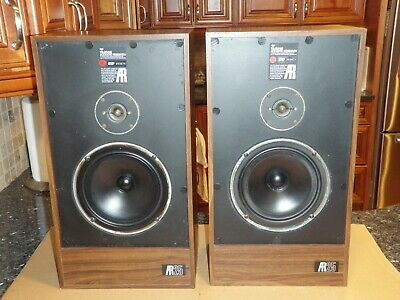 Acoustic Research AR25  Vintage Bookshelf 2-WAY Speaker Great Size and Sound WOW