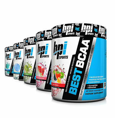Bpi Sports Best Bcaa-All Flavors-Branched Chain Amino Acids-Muscle Recovery