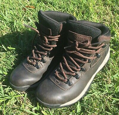 22286808faf COLUMBIA WOMENS NEWTON Ridge Mud/Eve Hiking Boots Size 6.5 (162994 ...