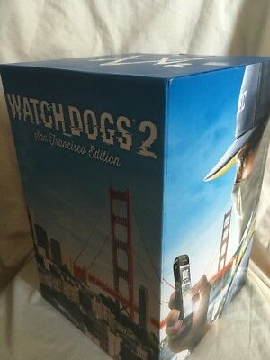 WATCHDOGS 2 Watch Dogs SAN FRANCISCO statue limited Collectors EDITION (no Game)