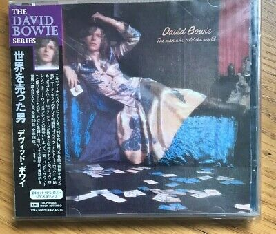 Rare David Bowie Series Man Who Sold The World CD EMI Japan Case OBI MINT 9 Trks