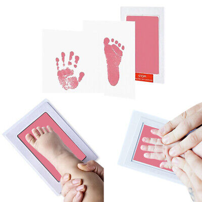 Brand New Inkless Wipe Baby Kids Hand And Foot Print Kit- High Quality K FZX
