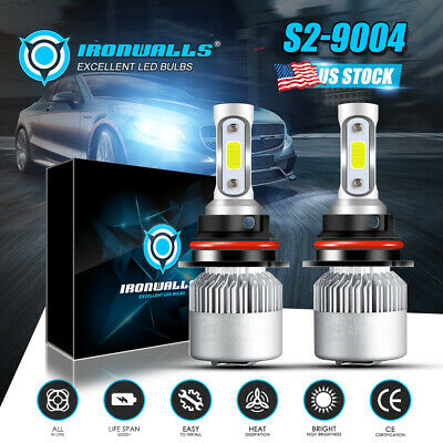 9004 HB1 LED Headlight Bulb for Dodge Ram 1500 2500 3500 1994-2001 High Low Beam
