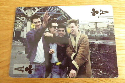 The Smiths Morrissey Rock Stars Playing Card  Mint
