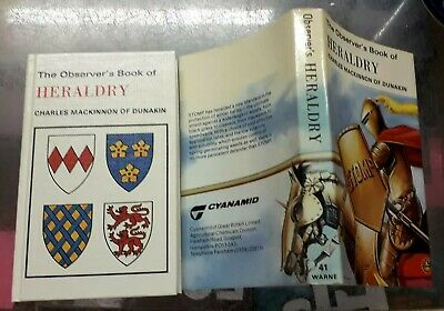 The Observer's Book of HERALDRY Cyanamid jacket reprinted with revisions 1980