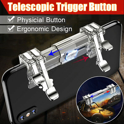 Mobile Phone Game Gamepad Trigger L1R1 Fire Button Shooter Controller for PUBG