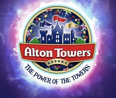2 x Alton Towers Tickets FRIDAY 03rd May 2019 Adult or Child E-Tickets