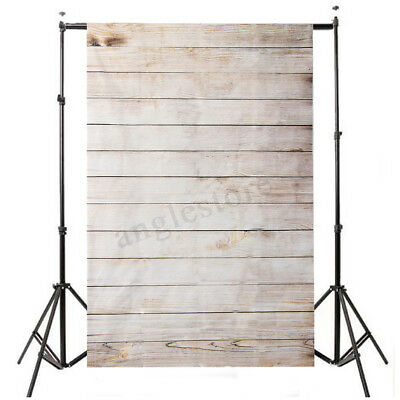 3X5FT Retro Wooden Wall Vinyl Studio Props Photography Backdrop Background USA