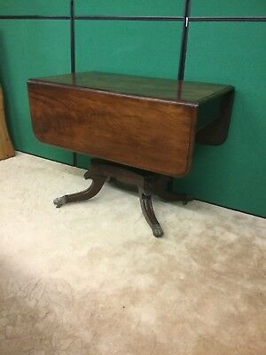 Early Victorian mahogany Pembroke table / sofa table Sn-814