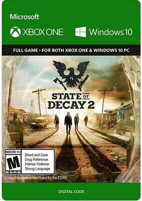 State of Decay 2 Xbox One/PC Digital Code Multilinguage Global