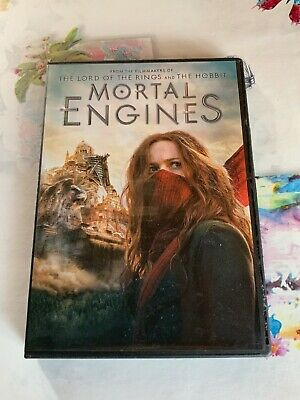 Mortal Engines DVD (region 1 us import) USED, IN GOOD CONDITION.