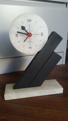 Stunning Art Deco Marble Mantle Clock