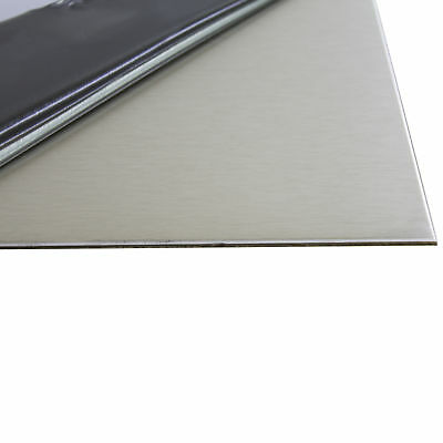 1 mm Stainless Steel Sheet 1.4301 K240 Ground One Side Film