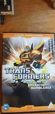 Transformers Prime Operation Bumblebee Dvd
