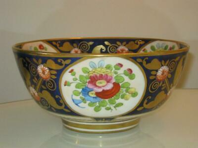 STUNNING RARE LARGE ANTIQUE EARLY 19th CENTURY SPODE PATTERN No 3219 BOWL