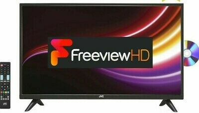 "JVC LT-32C485 32"" HD LED TV/DVD Combi with Freeview HD, 3 x HDMI, USB, SCART"