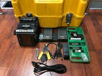 FUJIKURA FSM-19R Fusion Splicer with CT-30 TOTAL ARC COUNT 3782 ** FREE SHIP **