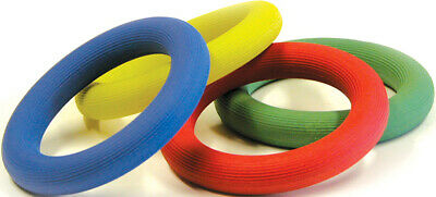 Outdoor Garden Game Playing Rubber Quoits Assorted Ring (Sold Single)