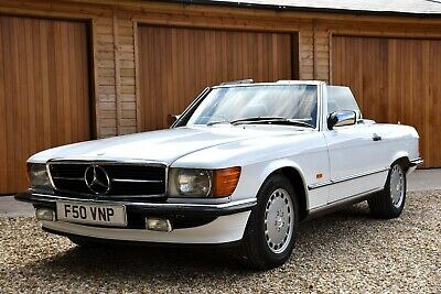 1989 Mercedes Benz R107 300SL. In Exceptional Condition. 23 stamps.