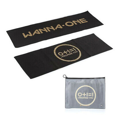 Wanna One] 2nd Mini Album 0+1=1 'I Promise You' Official SLOGAN - New Condition