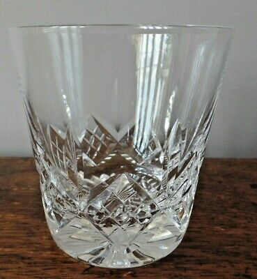 Stuart Crystal Glass Glengarry Large Tumbler 3 1/2 Inch 1St Quality Signed