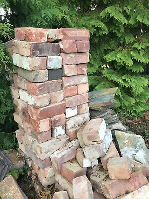 "Reclaimed Imperial bricks 3"" X 9"" 120 in number"