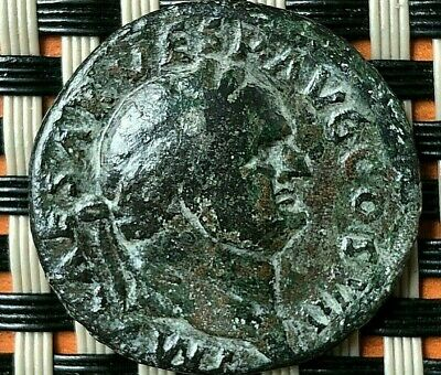 Bronze Coin Of Vespasian 69-79 Ad Ae As Rome Mint Ancient Roman Coin