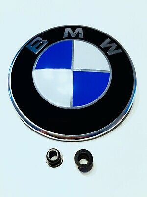 BONNET EMBLEM ⭐ BMW 1 3 5 SERIES E60 E61 X E90 E81 E92 E46 E91 E24 82mm BADGE