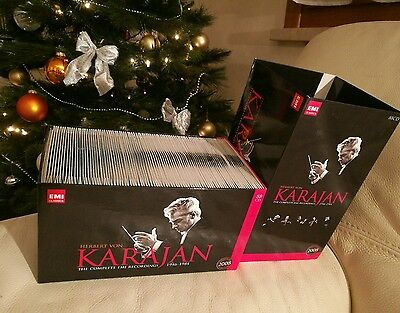 Karajan - The complete EMI recordings vol 1 orchestral 88 CD  RARE OUT OF PRINT