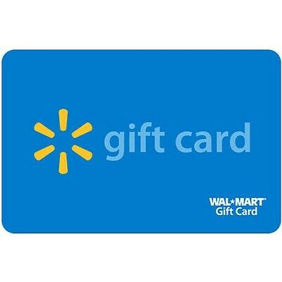 $500 Walmart Gift Card No Expiration for IN-STORE or ONLINE - mail delivery