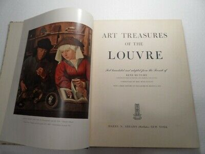 Art Treasures of the Louvre classic volume by Huyghe illustrated throughout