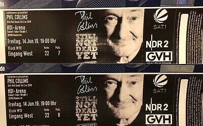 2x Ticket Phil Collins Konzert Hannover 14.06.2019