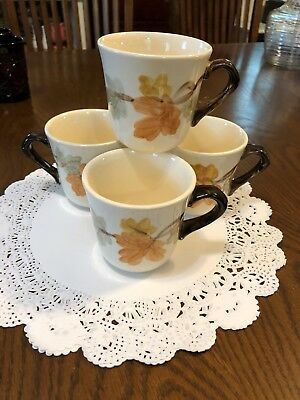 Franciscan (October Pattern) Coffee Cups (7)USA