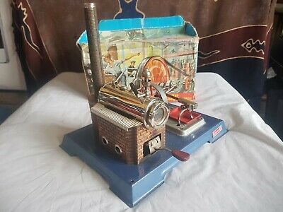 Wilesco D8 StationaryModel Steam Engine-Boxed
