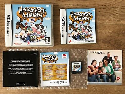 Harvest Moon Nintendo Ds Juego Pal España Compatible Con Nds New 3Ds 2Ds Xl