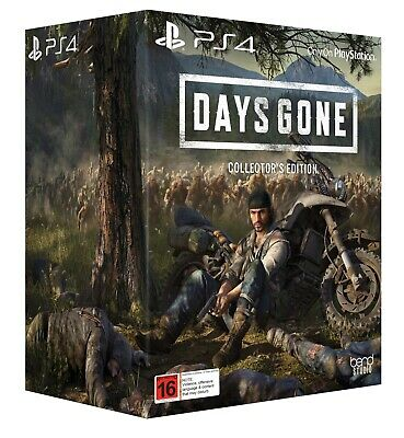 Collector'S Edition Days Gone Ps4 Ships On Release Day 26/04/2019..