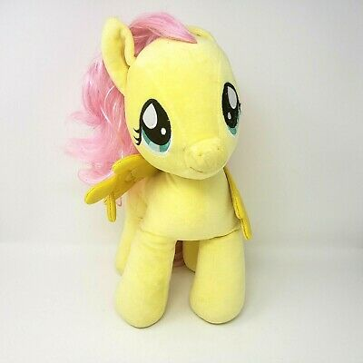 "Build A Bear My Little Pony Fluttershy Plush Toy Stuffed Animal 16"" Tall"