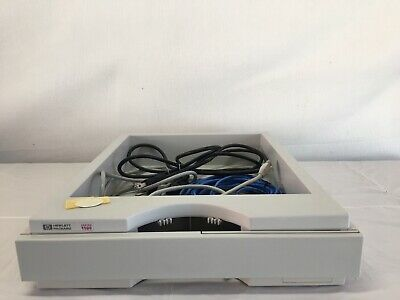 Agilent /HP 1100 Series HPLC Bottle Tray W/ Cables And Power Cords