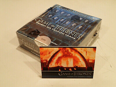 Game of Thrones Season 6 Factory Sealed Trading Card Box! 2 Autographs per