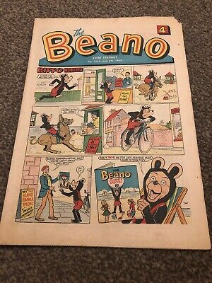 The Beano. No 1355. 6 July 1968