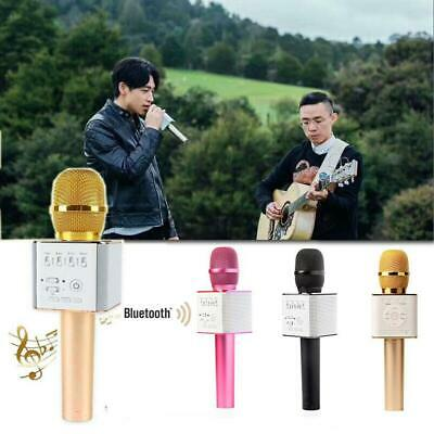 Q9 Handheld Wireless Bluetooth Karaoke Microphone Speaker USB Player LEBB 01
