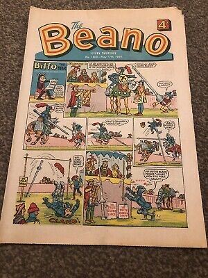 The Beano. No 1400. 17 May 1969